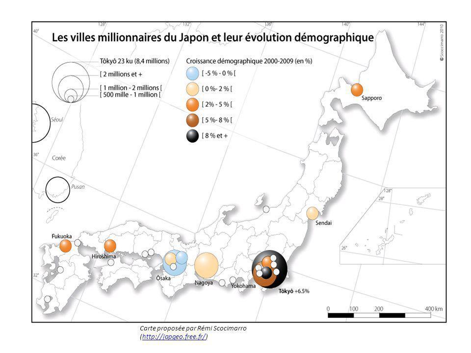 Carte proposée par Rémi Scocimarro (http://japgeo.free.fr/)