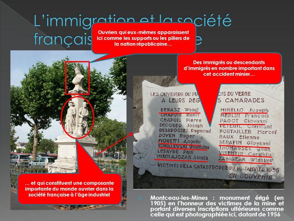 L'immigration et la société française au 20e siècle