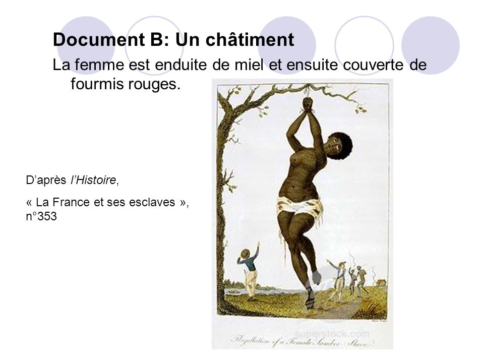 Document B: Un châtiment