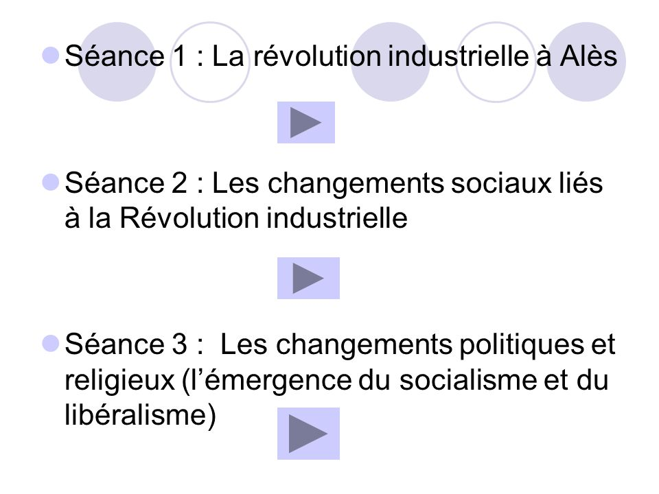 Séance 1 : La révolution industrielle à Alès
