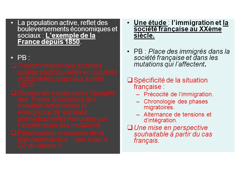 Questions pour comprendre le xx me siecle ppt t l charger - Office francaise d immigration et d integration ...