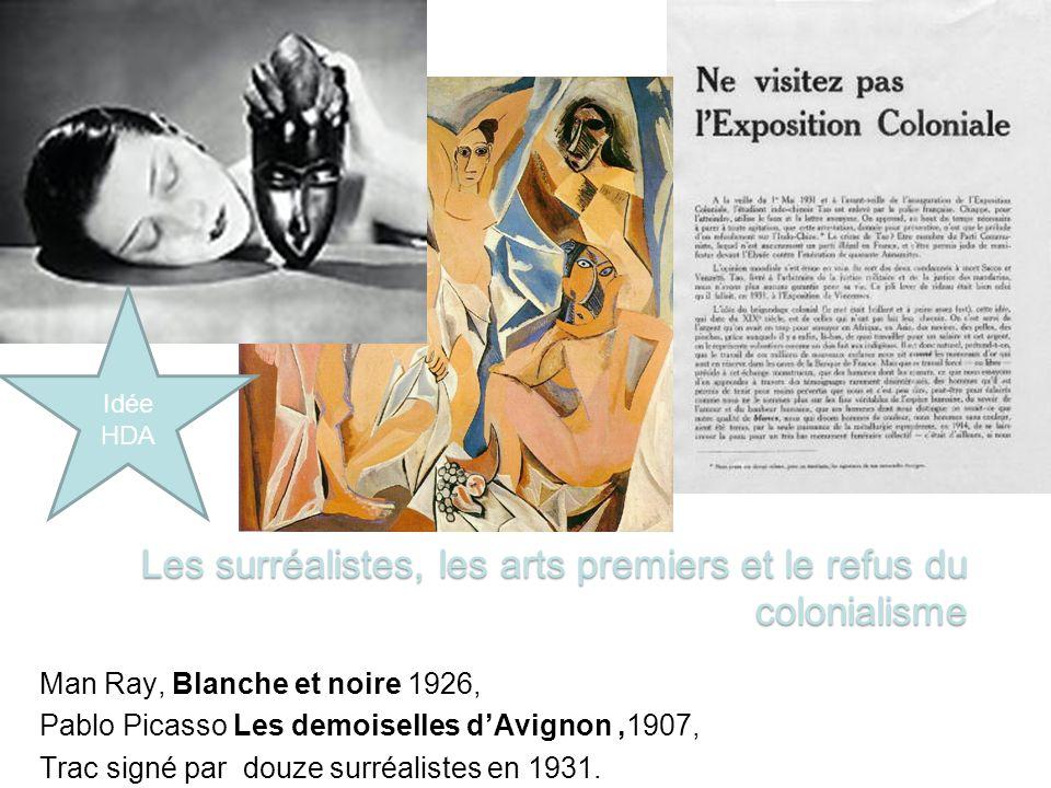 Les surréalistes, les arts premiers et le refus du colonialisme