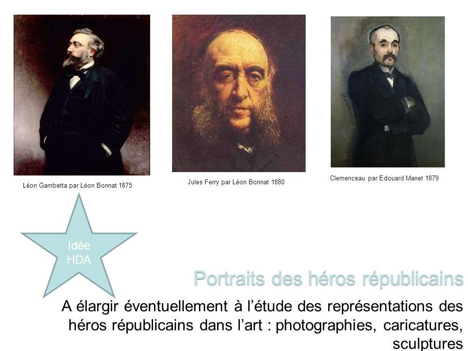 Portraits des héros républicains