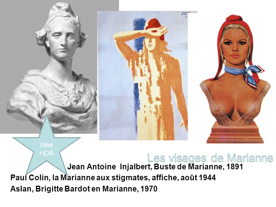 Les visages de Marianne