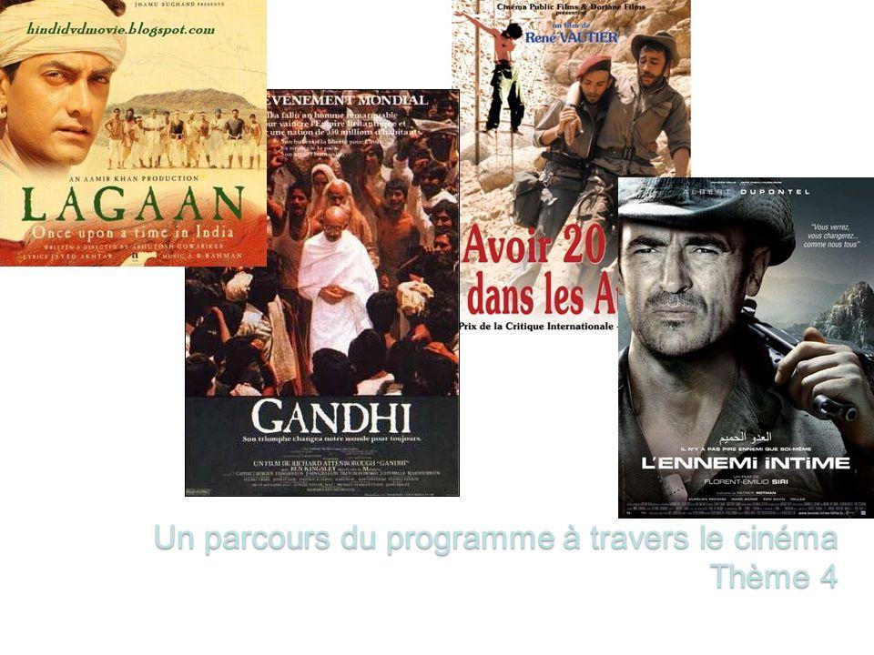 Un parcours du programme à travers le cinéma Thème 4