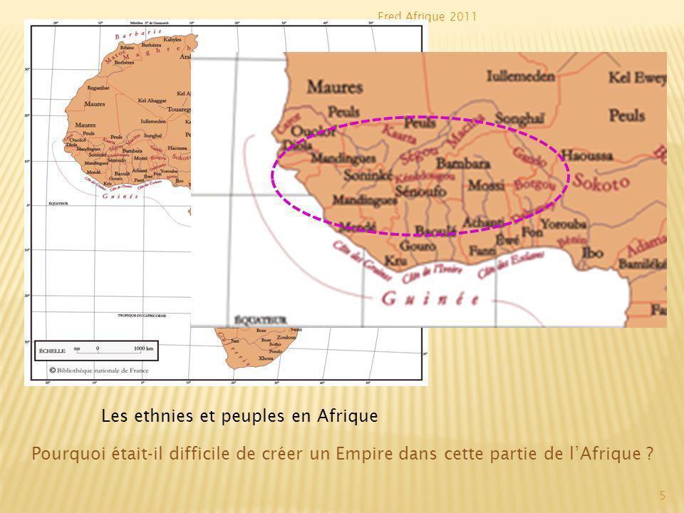 Les ethnies et peuples en Afrique