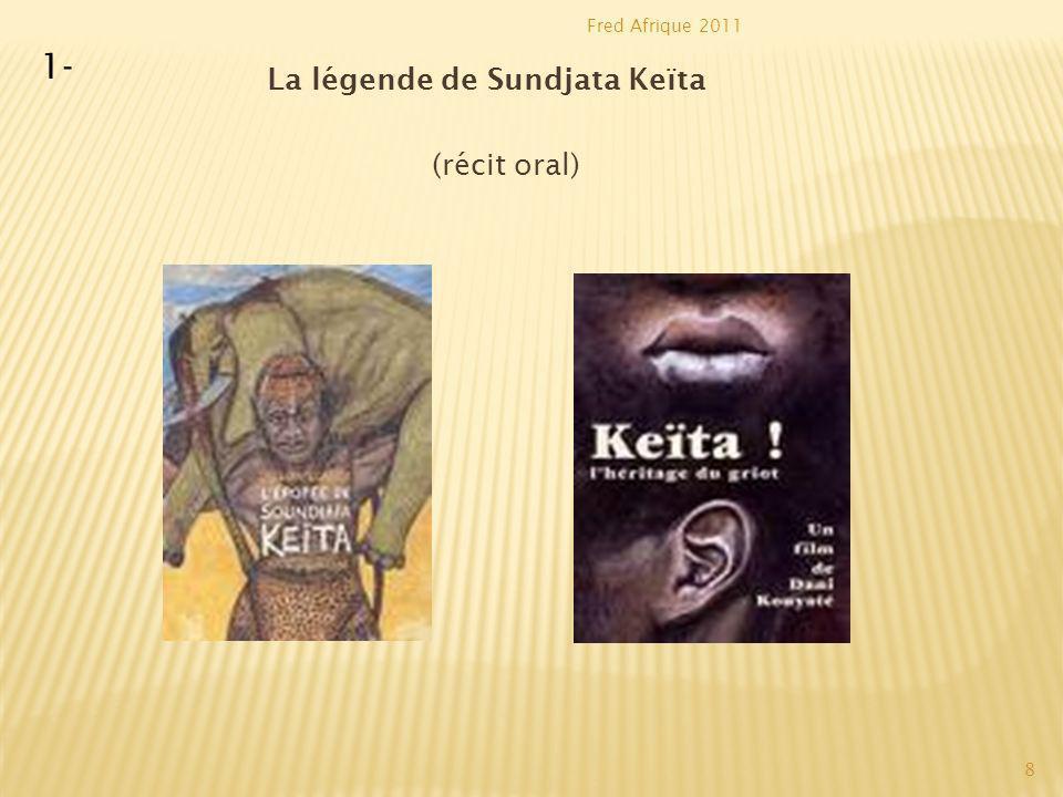 La légende de Sundjata Keïta