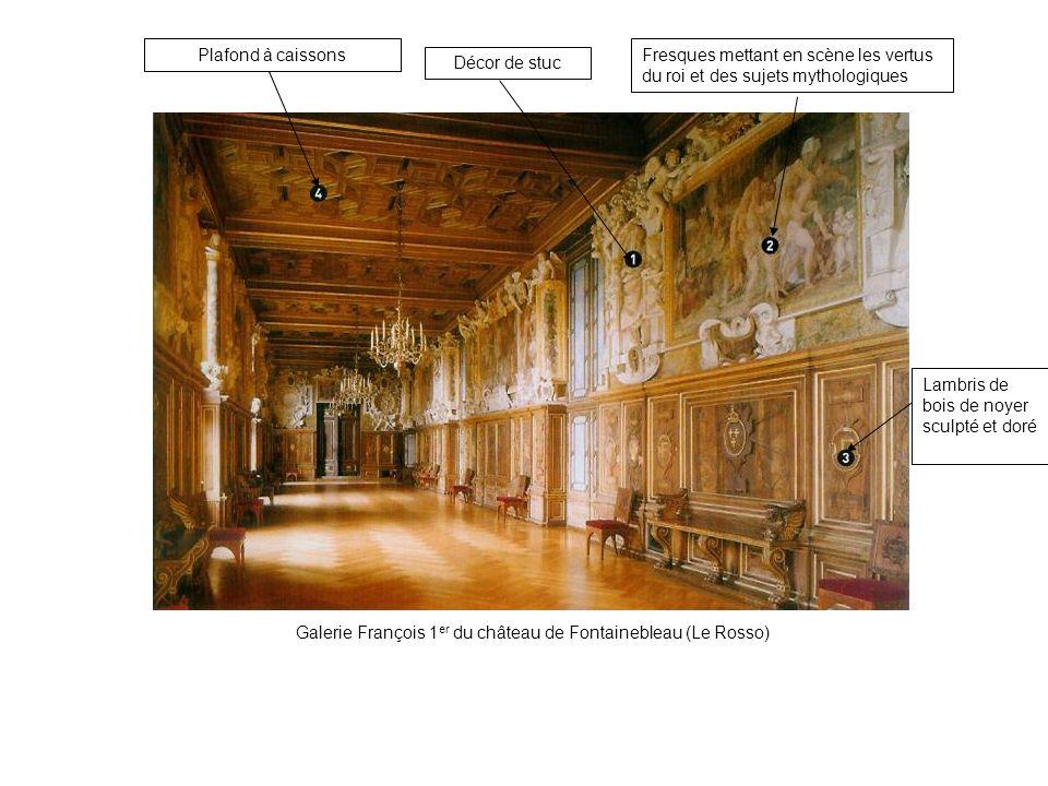 Galerie François 1er du château de Fontainebleau (Le Rosso)