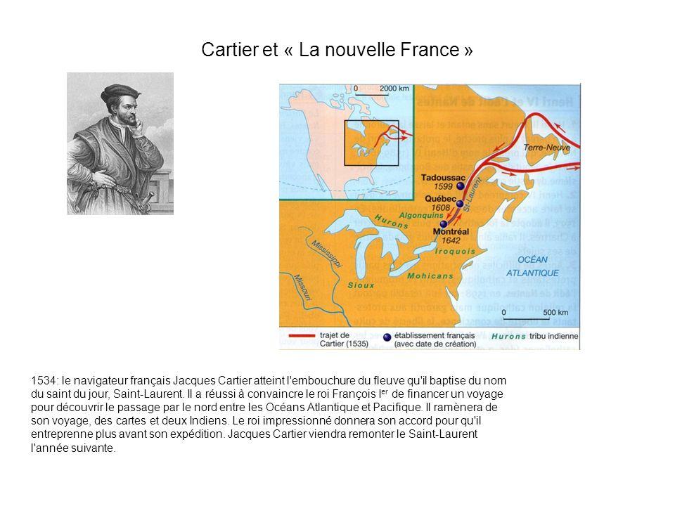 Cartier et « La nouvelle France »