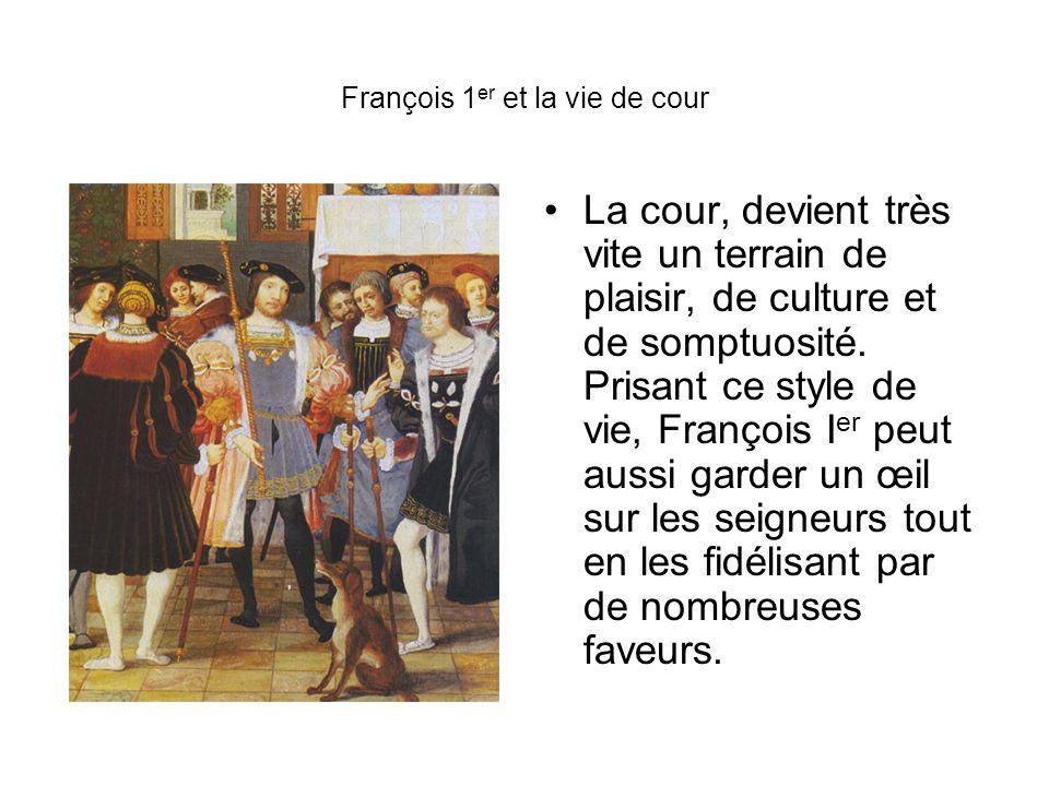 François 1er et la vie de cour