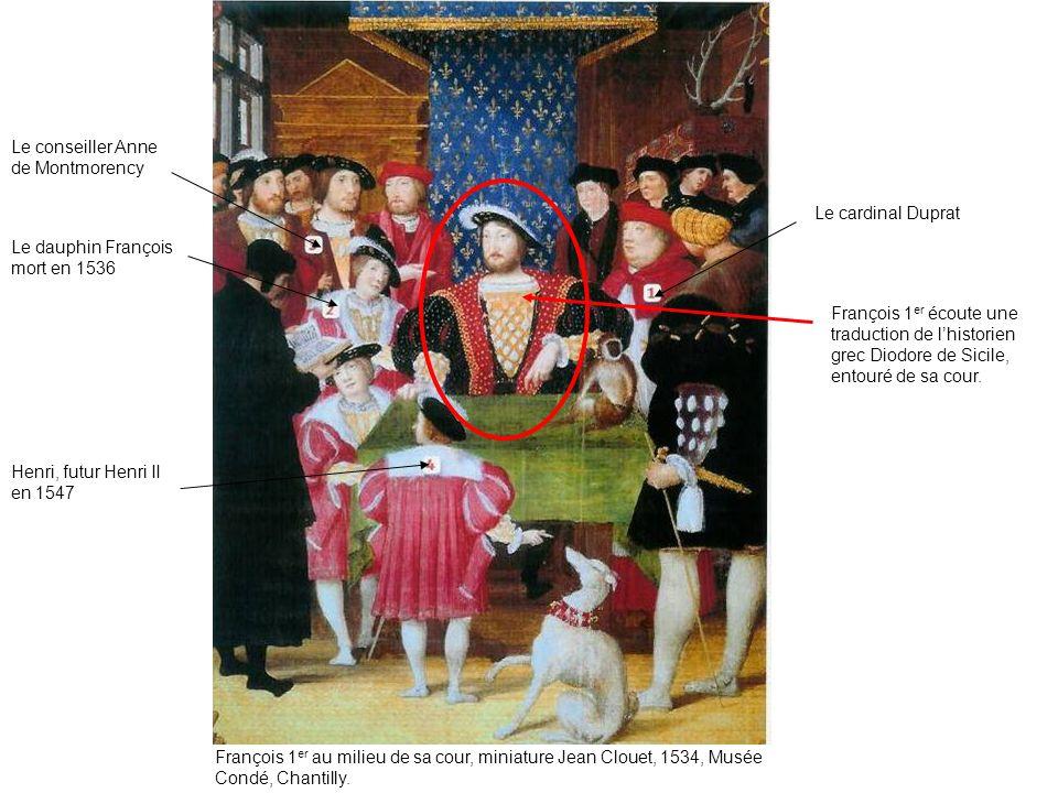 Le conseiller Anne de Montmorency