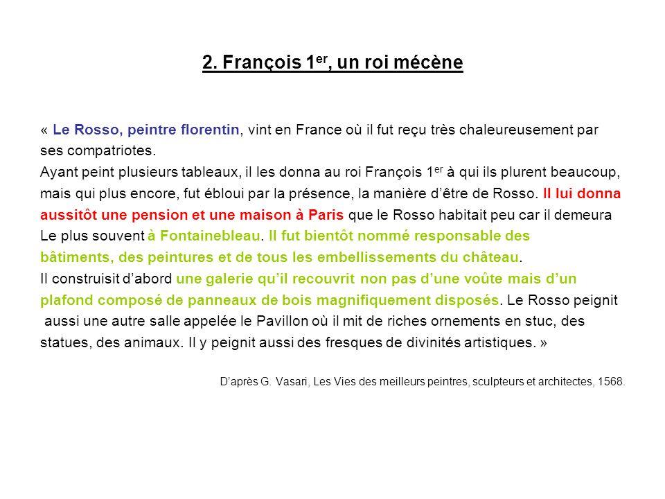 2. François 1er, un roi mécène
