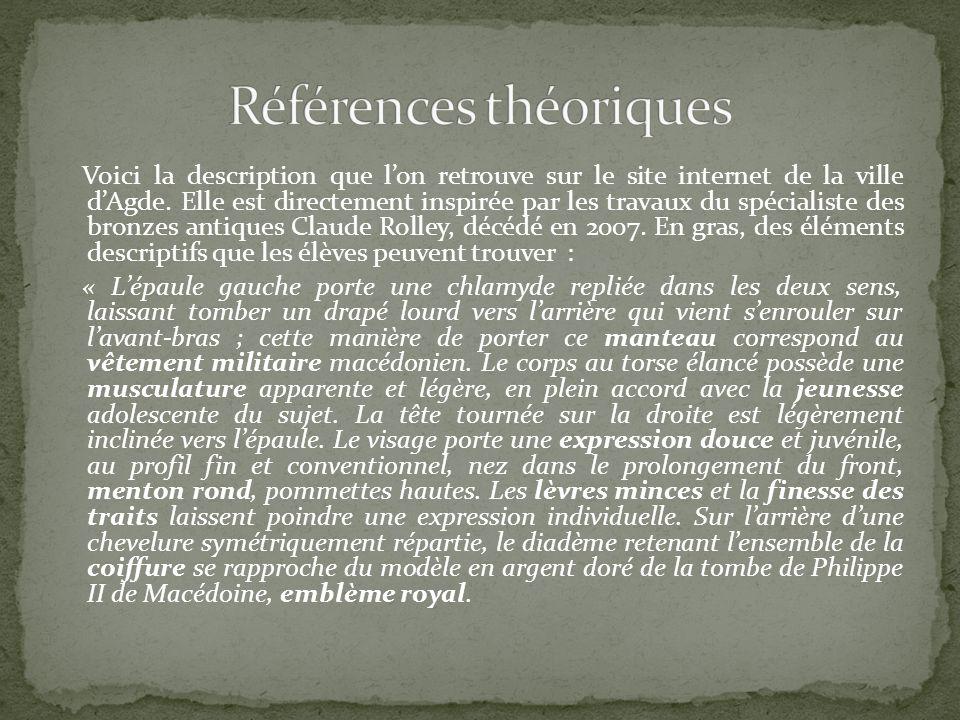 Références théoriques