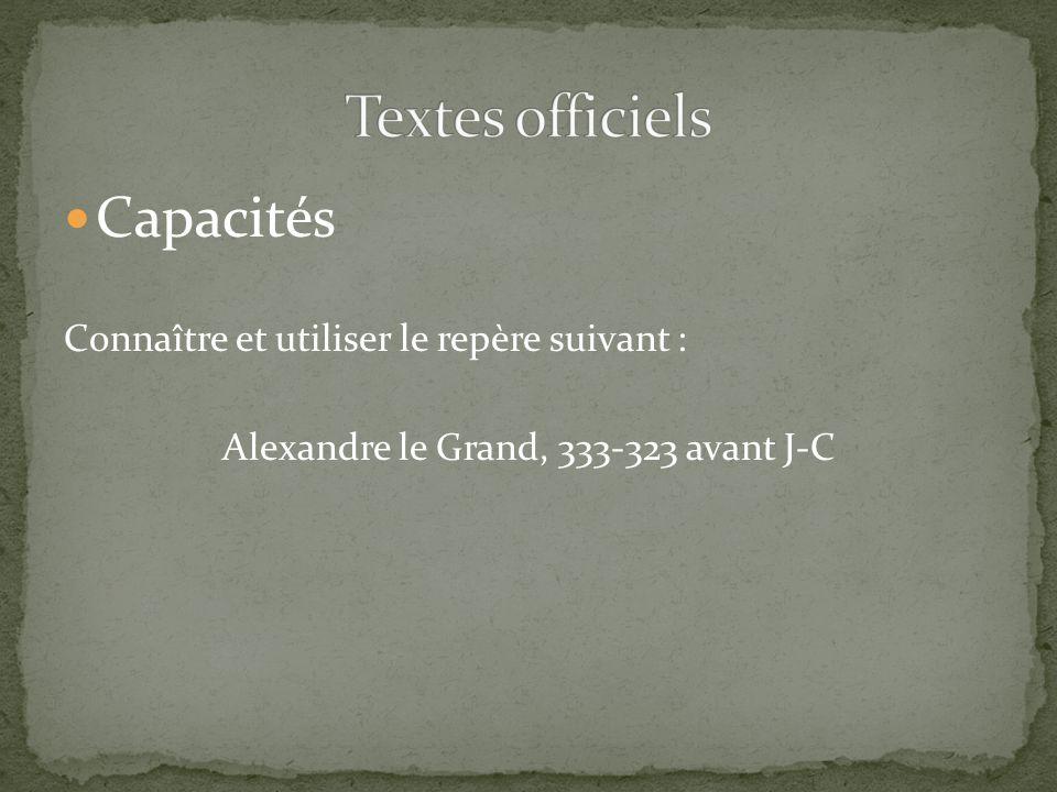 Alexandre le Grand, 333-323 avant J-C