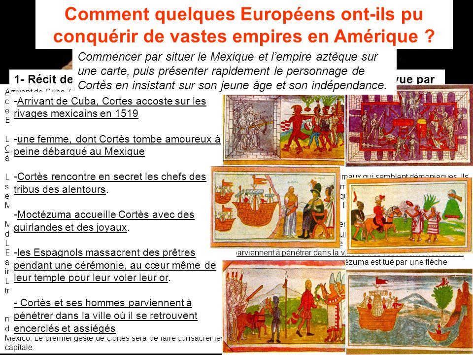 Comment quelques Européens ont-ils pu conquérir de vastes empires en Amérique