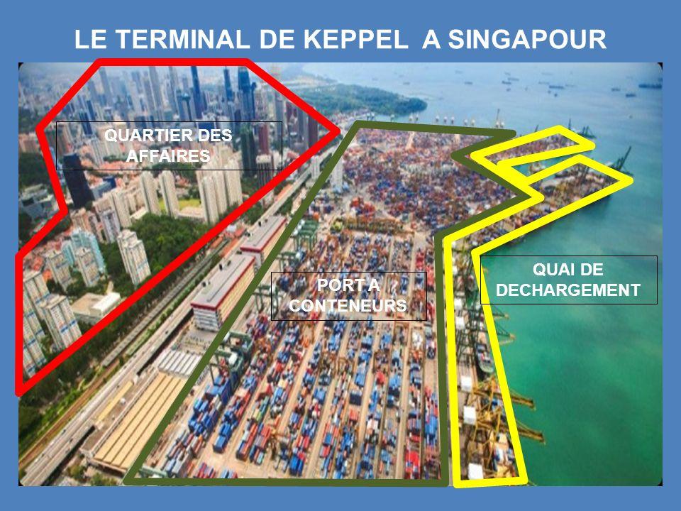 LE TERMINAL DE KEPPEL A SINGAPOUR