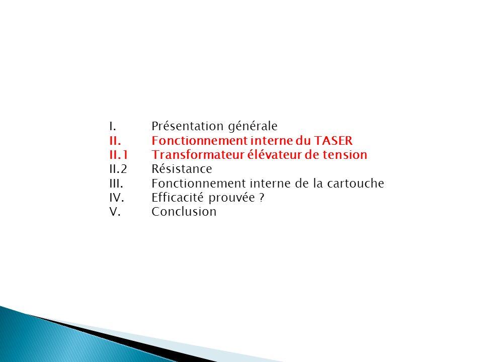 I. Présentation générale