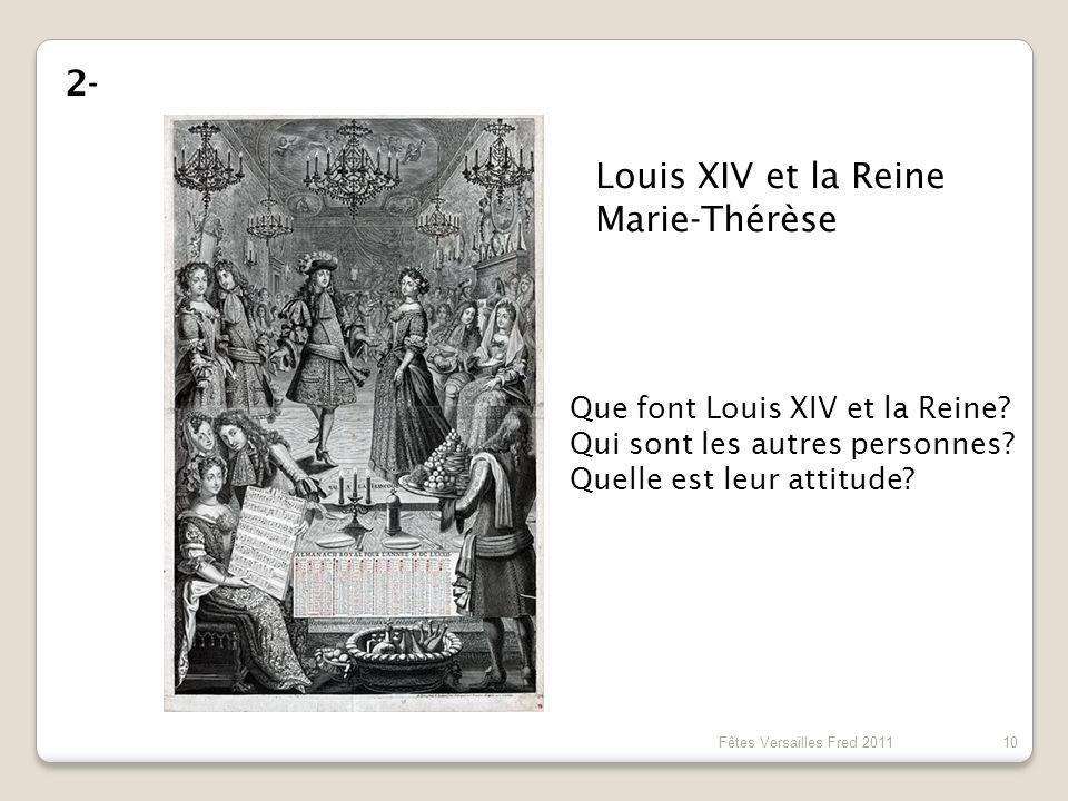 Louis XIV et la Reine Marie-Thérèse