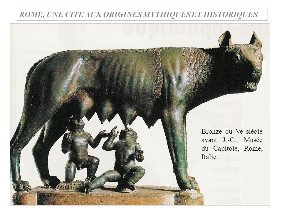 ROME, UNE CITE AUX ORIGINES MYTHIQUES ET HISTORIQUES
