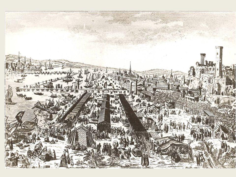 Sur notre gravure, Beaucaire est à l'est, sur la gravure de 1820, à l'ouest.