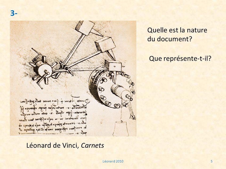 3- Quelle est la nature du document Que représente-t-il