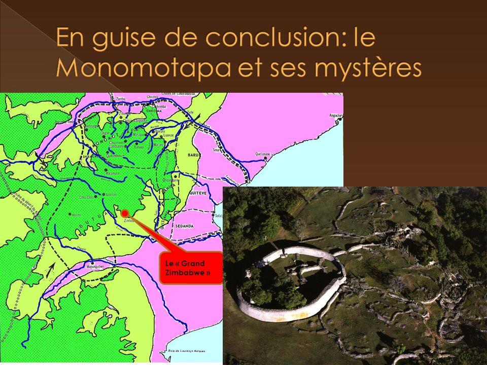En guise de conclusion: le Monomotapa et ses mystères
