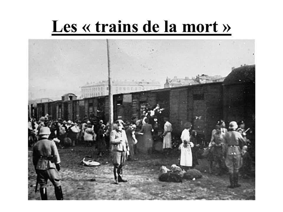 Les « trains de la mort »