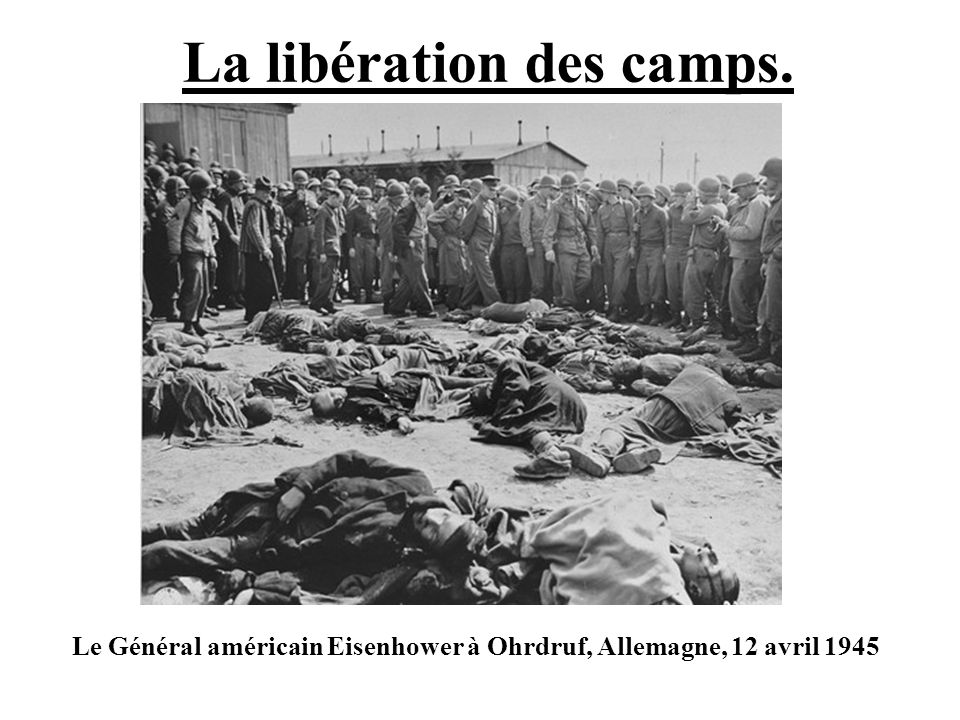 La libération des camps.