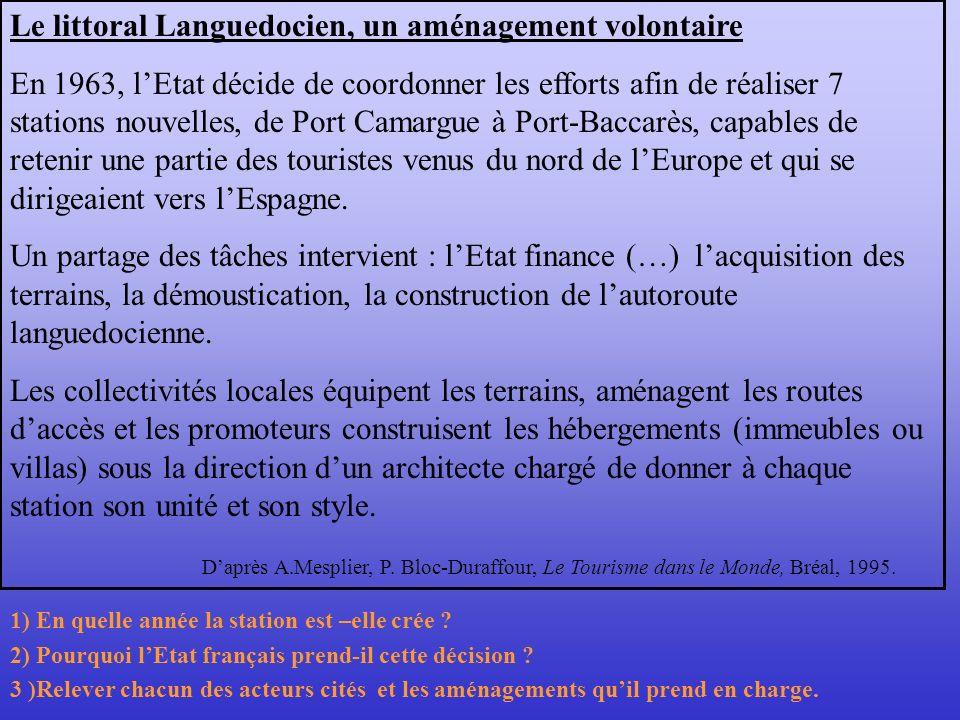 Le littoral Languedocien, un aménagement volontaire
