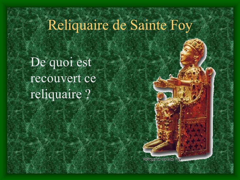 Reliquaire de Sainte Foy