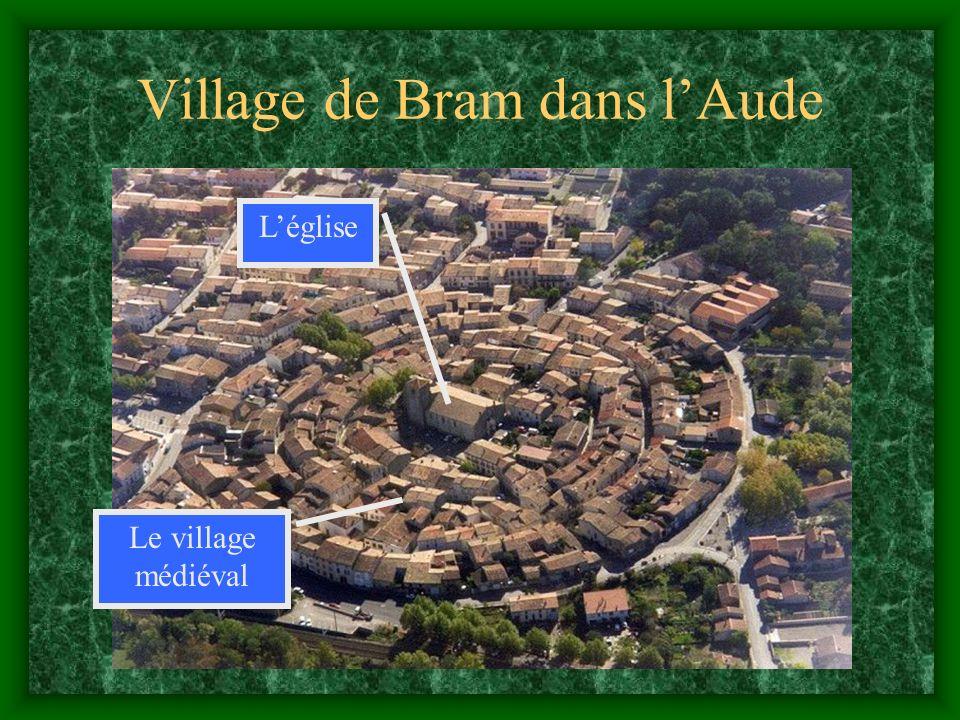 Village de Bram dans l'Aude