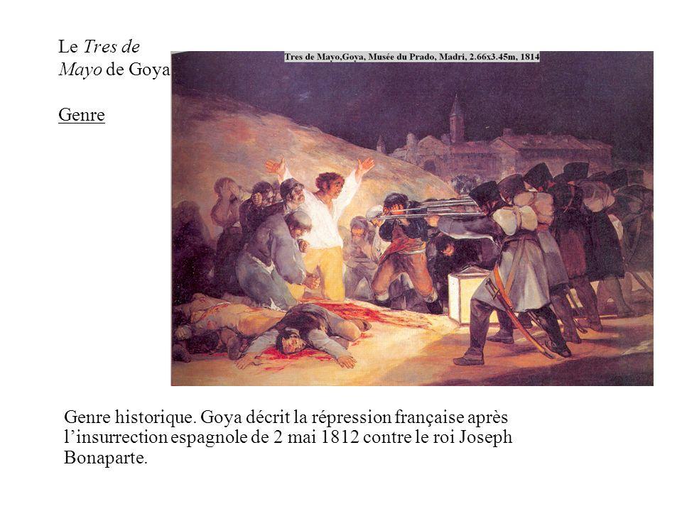 Le Tres de Mayo de Goya Genre
