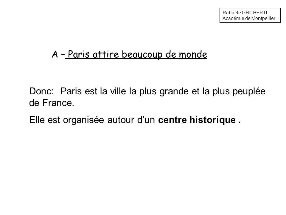 Donc: Paris est la ville la plus grande et la plus peuplée de France.