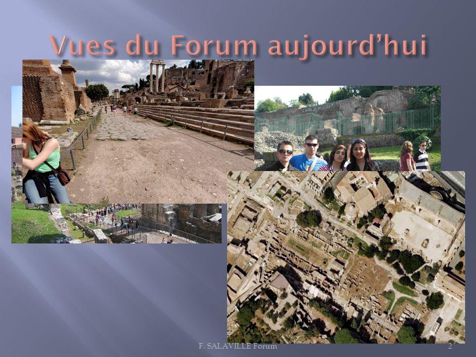 Vues du Forum aujourd'hui