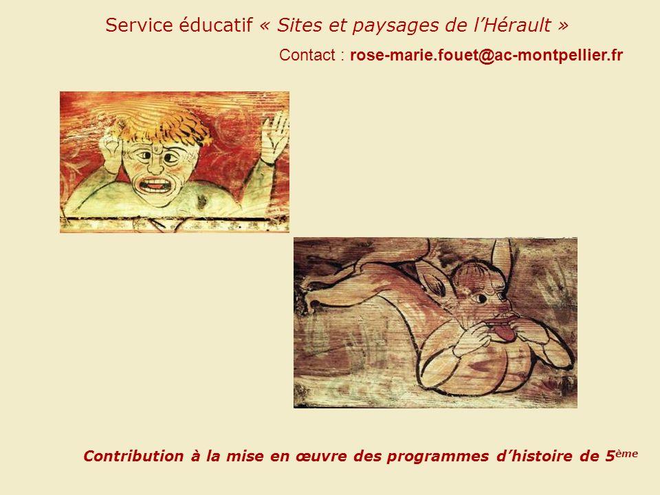Service éducatif « Sites et paysages de l'Hérault »