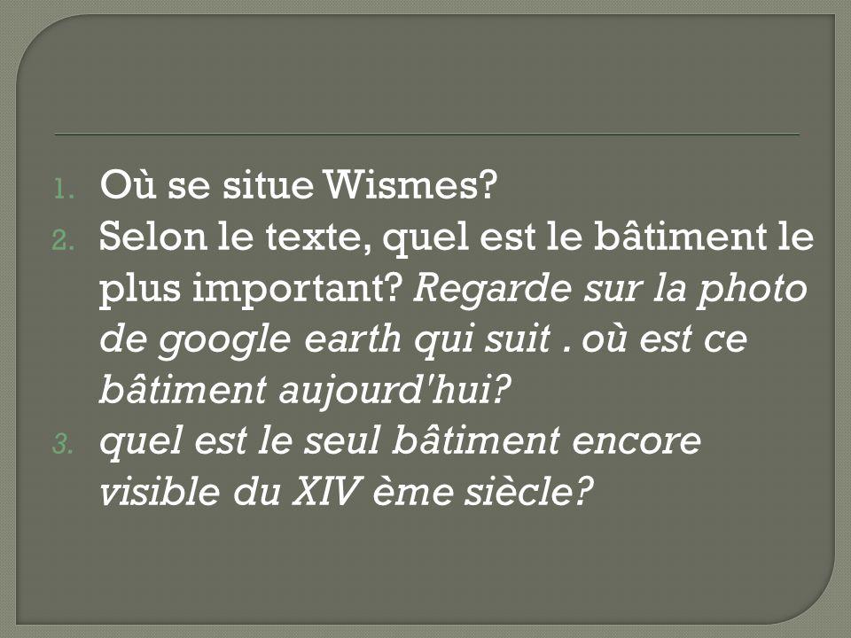 Où se situe Wismes