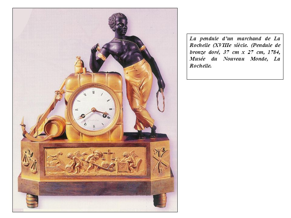 La pendule d'un marchand de La Rochelle (XVIIIe siècle