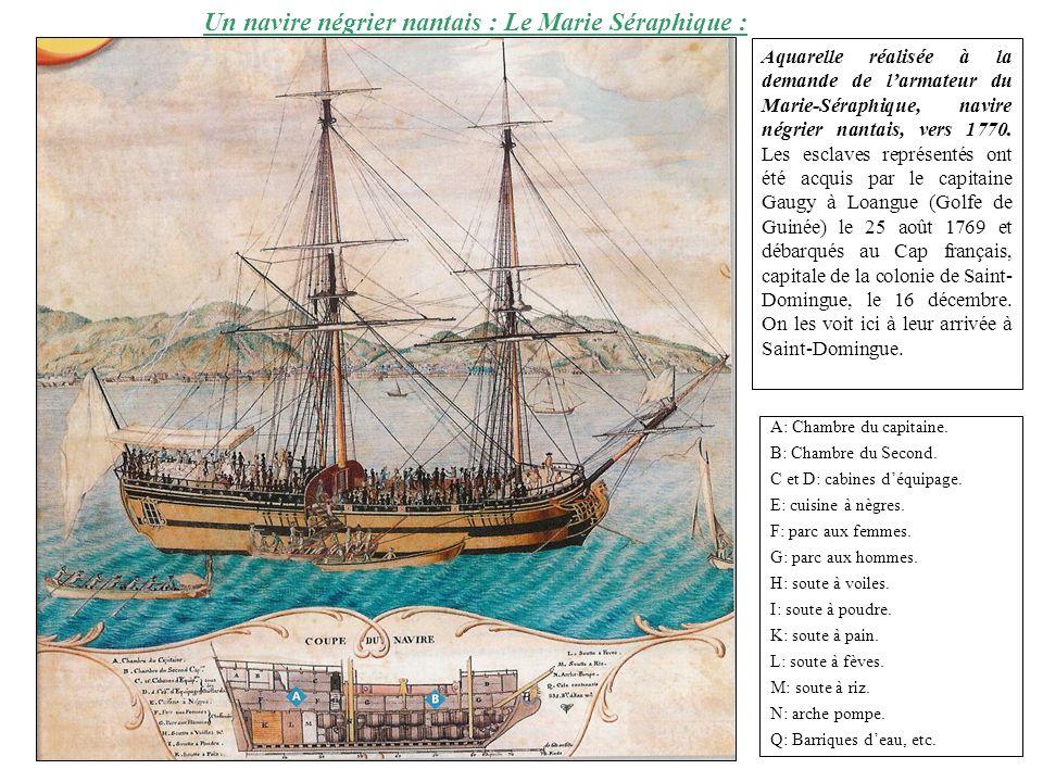 Un navire négrier nantais : Le Marie Séraphique :