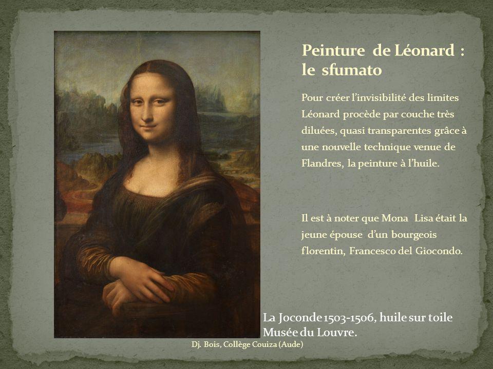 Peinture de Léonard : le sfumato