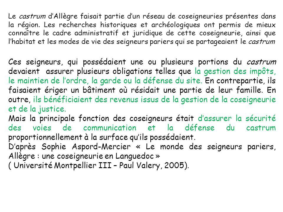 ( Université Montpellier III – Paul Valery, 2005).