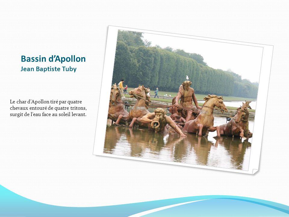 Bassin d'Apollon Jean Baptiste Tuby