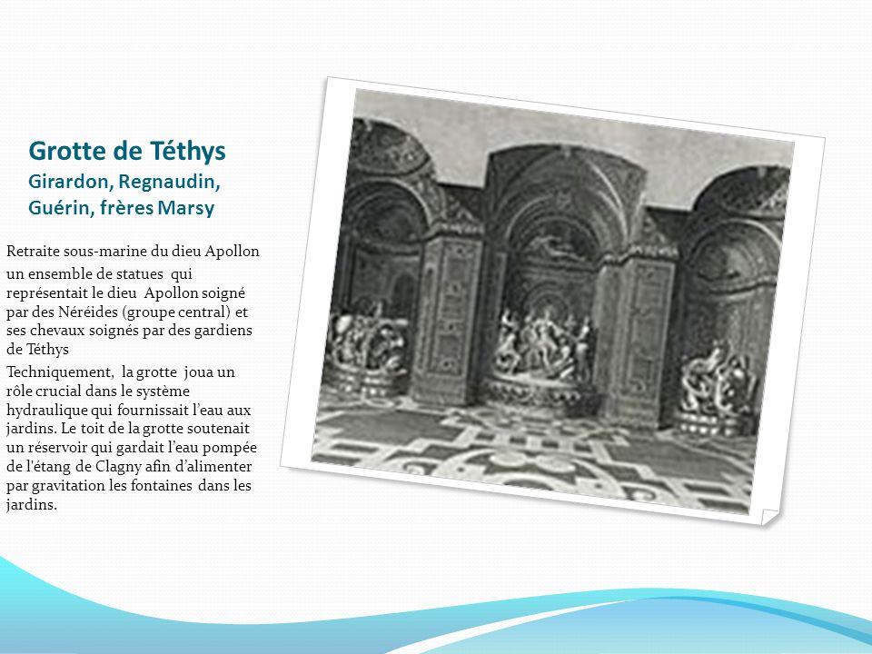 Grotte de Téthys Girardon, Regnaudin, Guérin, frères Marsy
