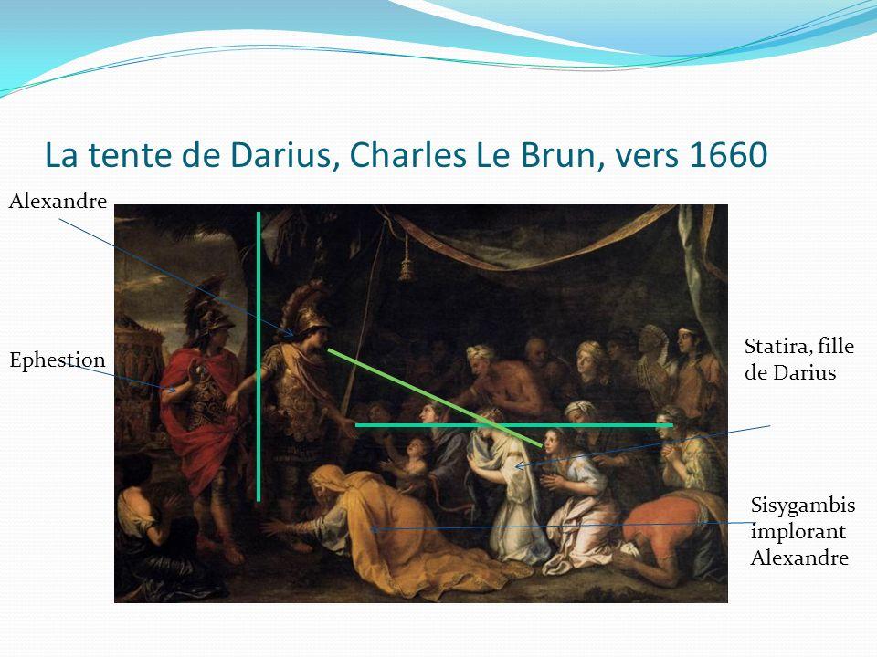 La tente de Darius, Charles Le Brun, vers 1660
