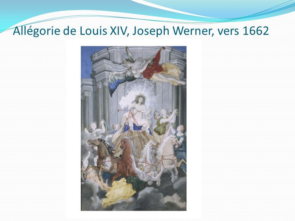 Allégorie de Louis XIV, Joseph Werner, vers 1662