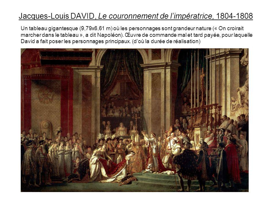 Jacques-Louis DAVID, Le couronnement de l'impératrice, 1804-1808