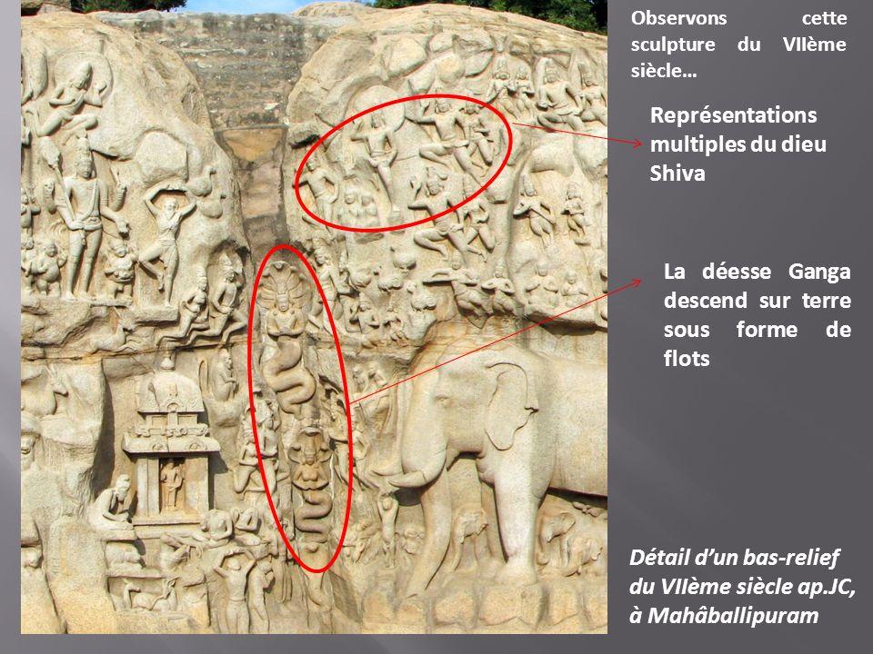 Représentations multiples du dieu Shiva