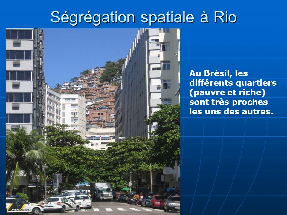 Ségrégation spatiale à Rio