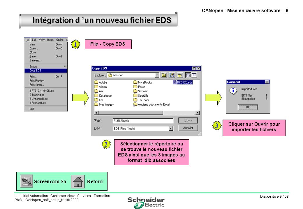 CANopen : Mise en œuvre software - 9