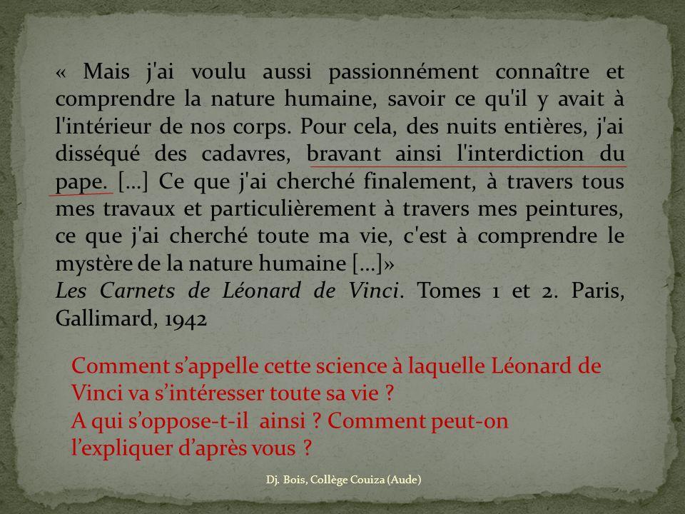 Les Carnets de Léonard de Vinci. Tomes 1 et 2. Paris, Gallimard, 1942