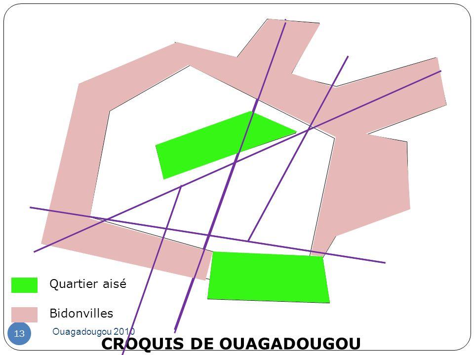 CROQUIS DE OUAGADOUGOU
